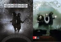 De svenske forsider til Blodet 1 og 2 af Anders Björkelid (2010, 2011)