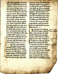 Uddrag at et kongespejl fra 1250