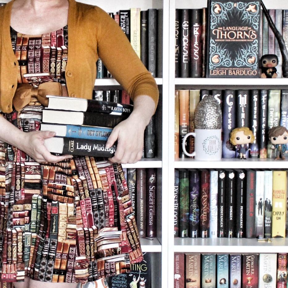 Profilbillede for bloggen Bibliotekattens bøger