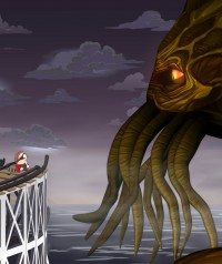Cthulhu indgår bl.a. i et par afsnit af tv-serien South Park.