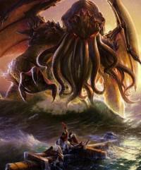 En af mange fortolkninger af Lovecrafts weird væsen Cthulhu.