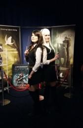 Sidste lørdag deltog to professionelle cosplayers i Baltoppen Bios Harry Potter-filmfestival.