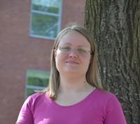 Kirsten Bloch er bibliotekar og bogblogger. Foto: Tommy Rasmussen.